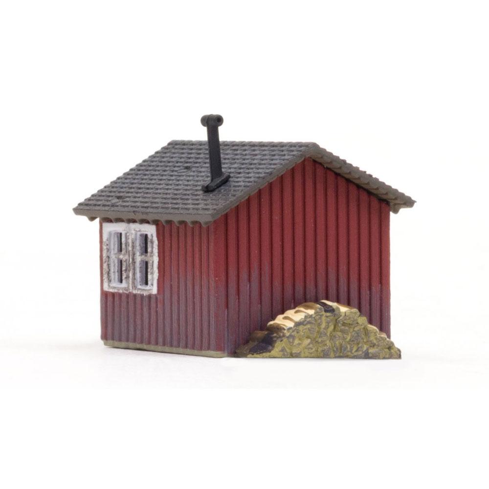 作業小屋 :ウッドランド 塗装済完成品 N(1/160) BR4947