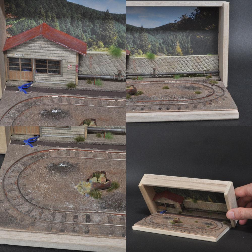 小さな鉱山レイアウト :城東電軌 塗装済完成品 9mmナロー用 1/87