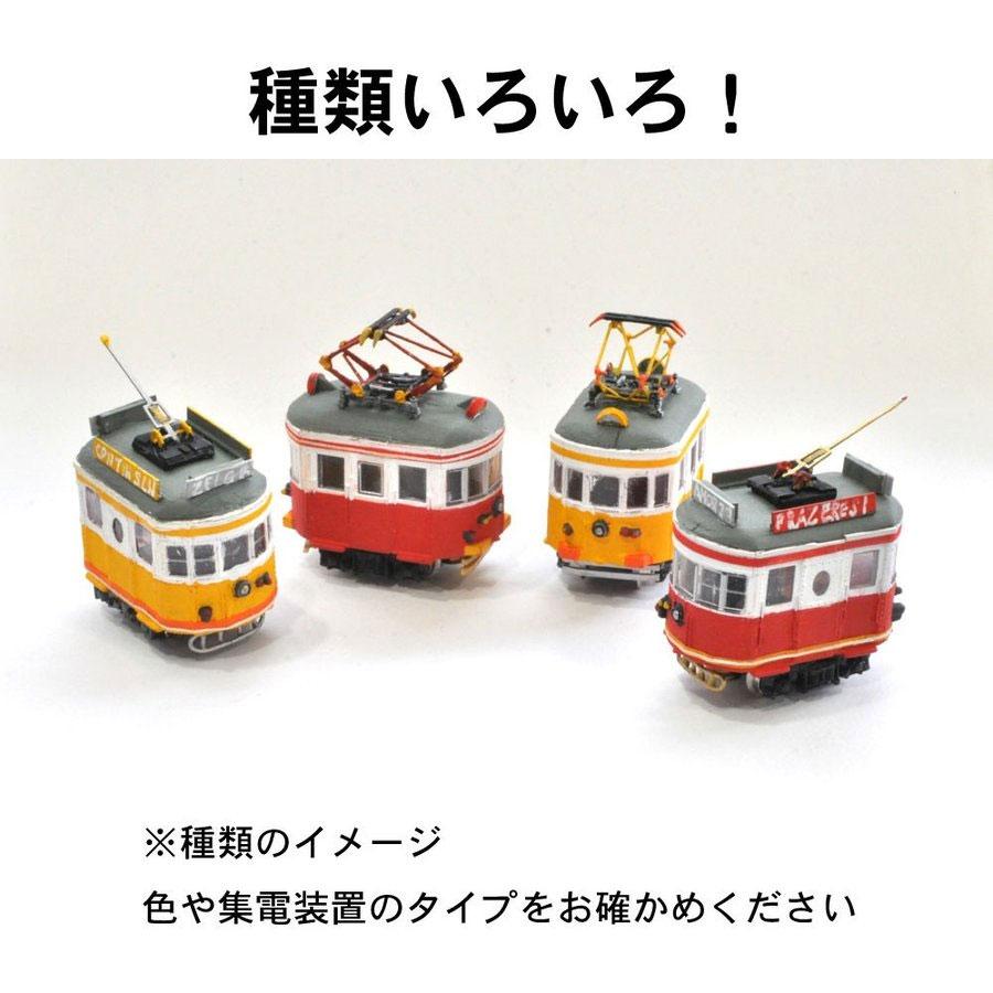 電池内蔵自走式 ミニミニトレイン <茶キハ52> :石川宜明 塗装済完成品 N(1/150)
