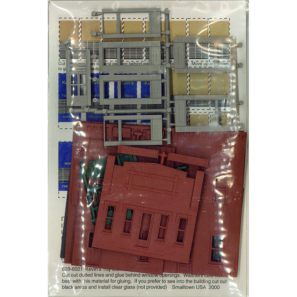 ケビンのおもちゃ店(トイショップ) :スモールタウン USA 未塗装キット HO(1/87) 6021
