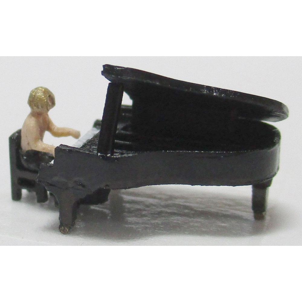 グランドピアノ :YSK 未塗装キット N(1/150) 品番399