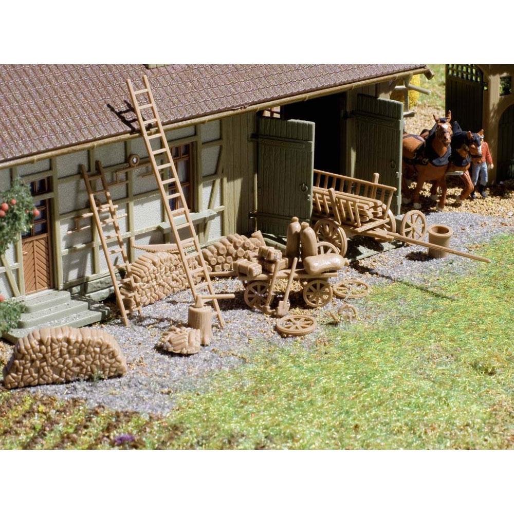 農場小物 :フォルマー 未塗装キット HO(1/87) 43699