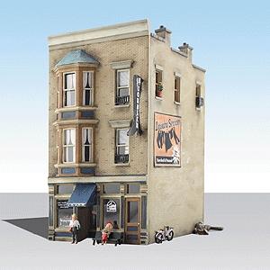 J.W. 靴店【LED付き】 :ウッドランド 塗装済完成品 HO(1/87) 5032