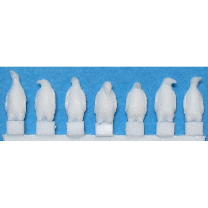 ペンギン素材A(立ち) :YSK 未塗装キット 1/100 スケール 品番401