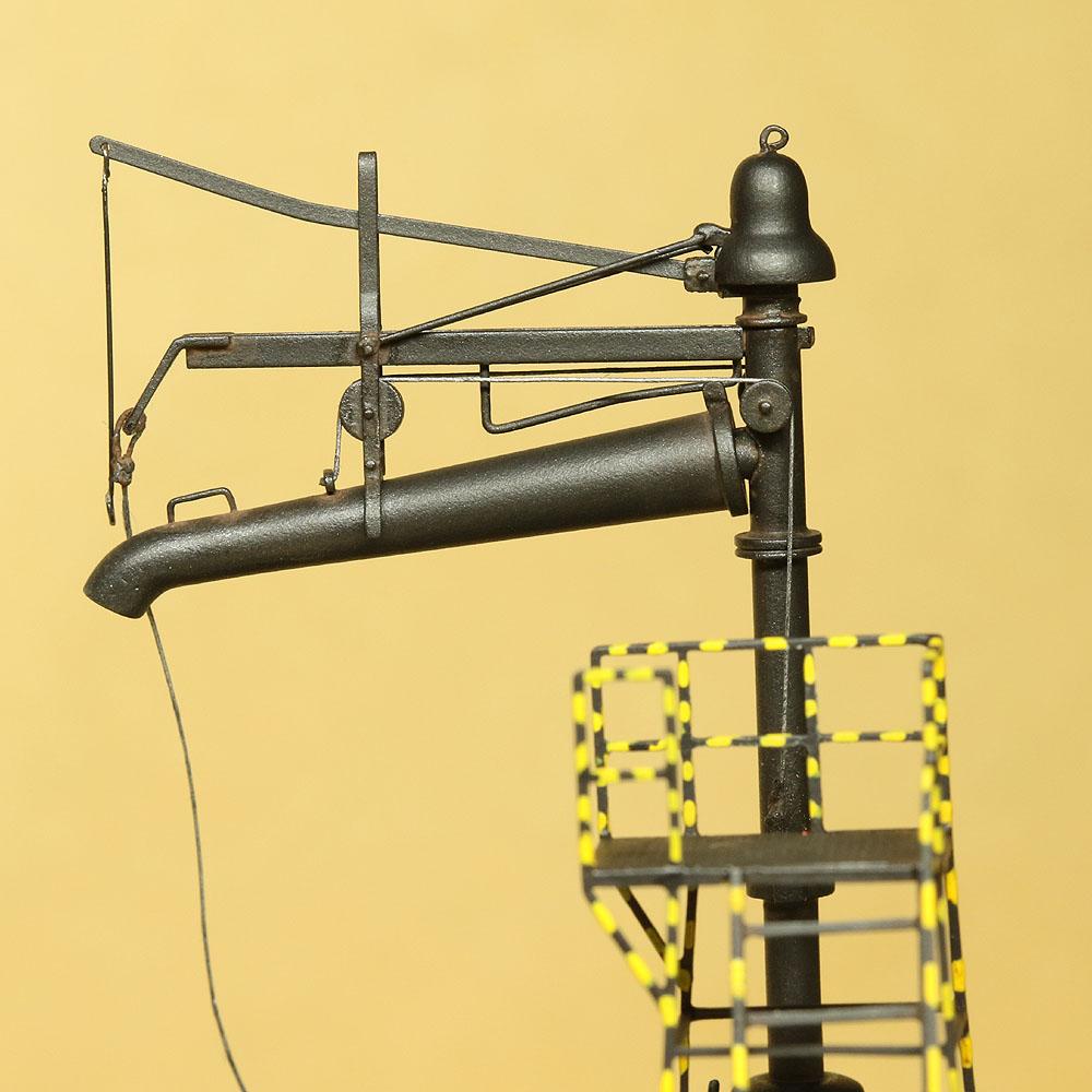 1/80東北本線・沼宮内タイプ給水柱・作業台付 :工房ナナロクニ 塗装済完成品 HO(1/80) 1088