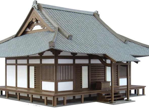 社寺-2 :さんけい キット HO(1/87) MK05-21