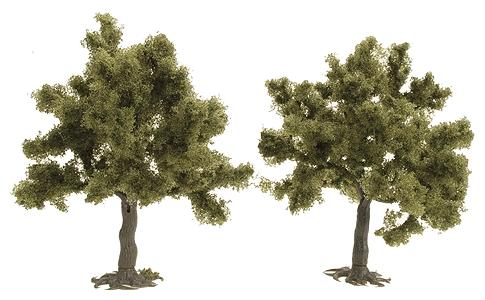 果樹 :ブッシュ 完成品 HO(1/87) 6857
