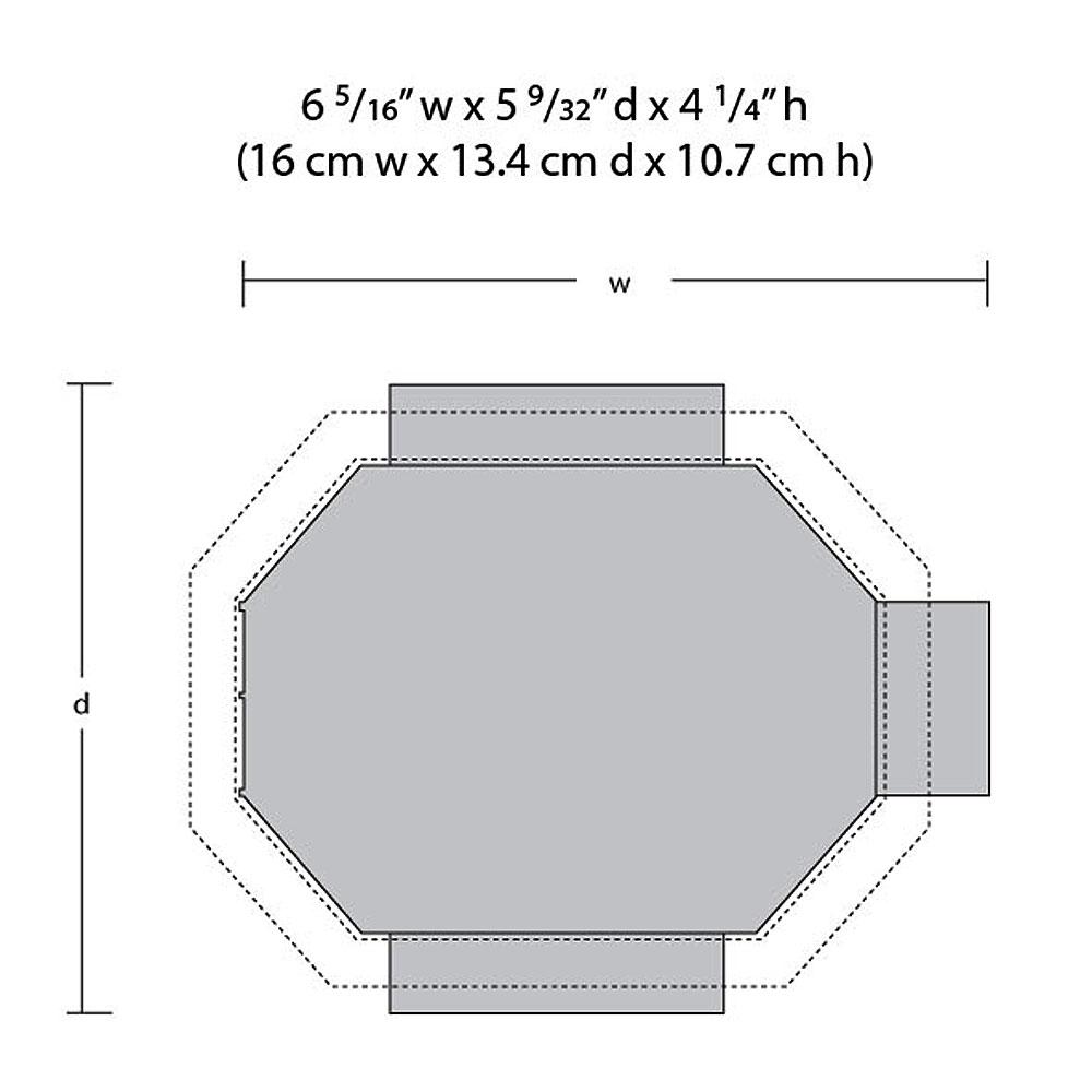 グランドガゼボ (東屋、テラス)【LED付き】 :ウッドランド 塗装済完成品 HO(1/87) BR5035