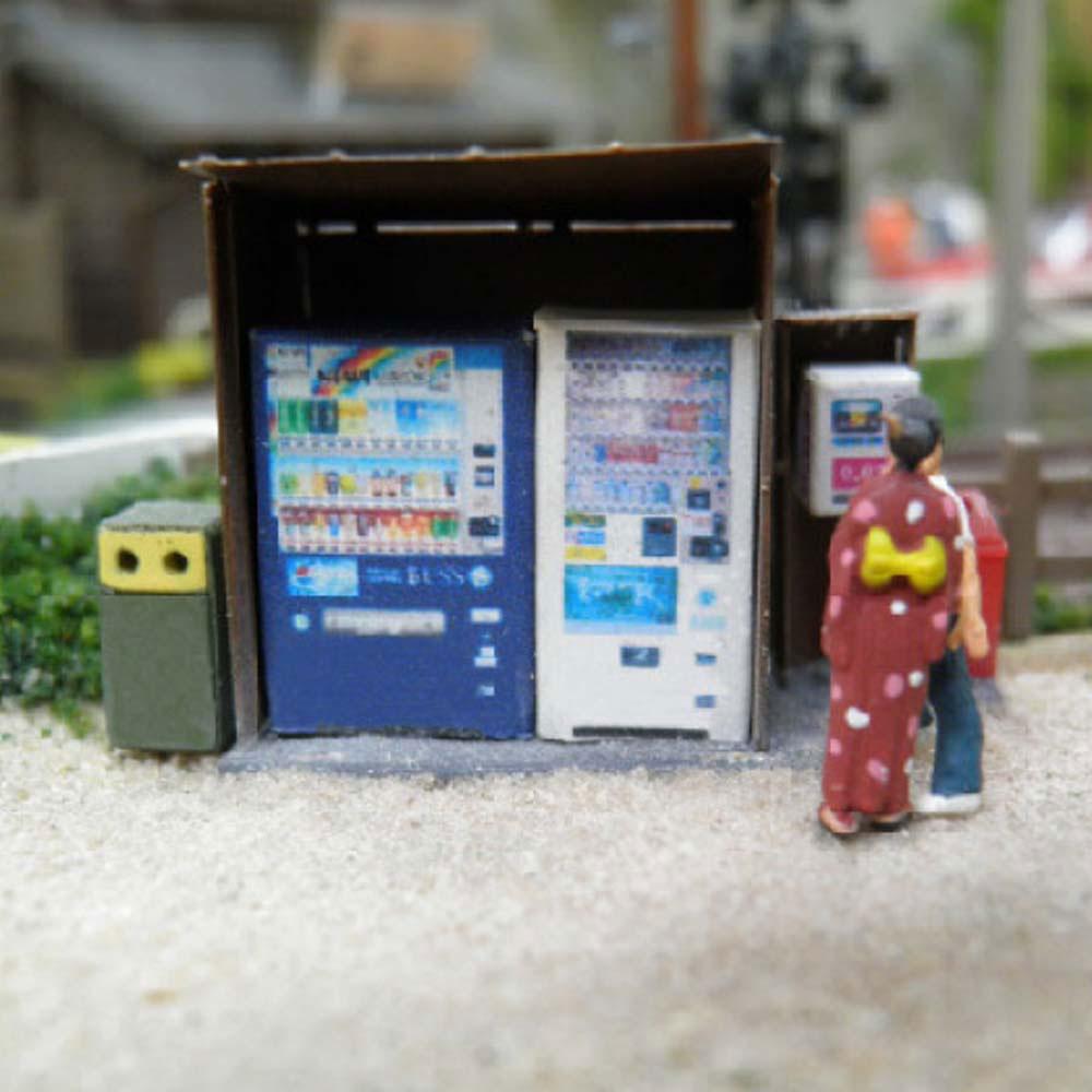 【模型】 自動販売機 ※こばる同等品 :さかつう 未塗装組み立てキット N(1/150) 3714