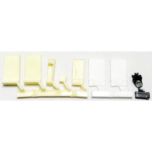 寝室A(薄茶) :YSK 未塗装キット N(1/150) 品番394