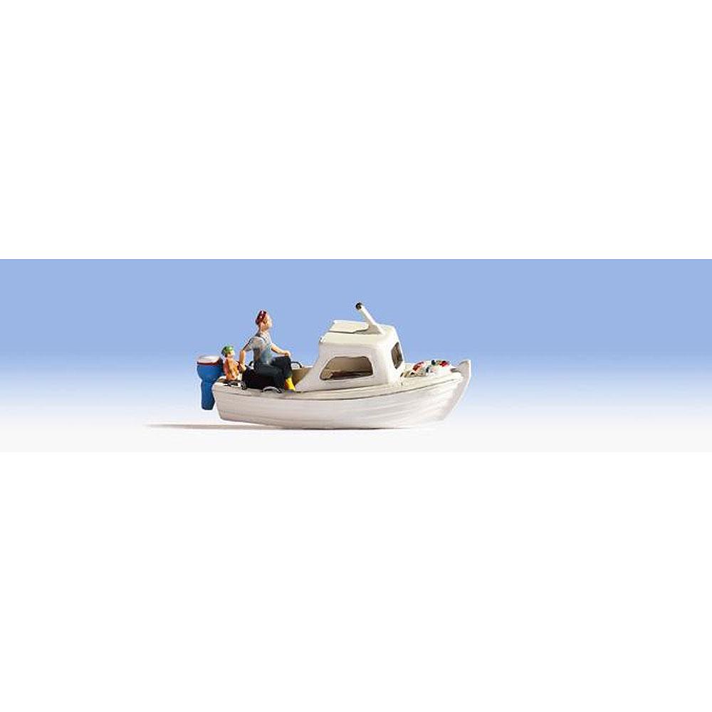 釣り船 フィッシャーボート :ノッホ 塗装済完成品 N(1/160) 37822