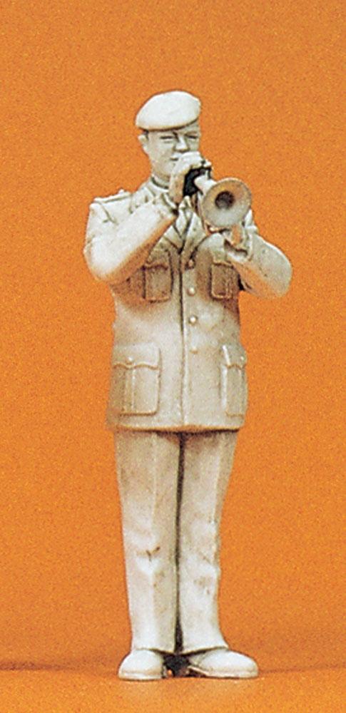 軍楽隊のコルネット奏者 :プライザー 未塗装キット 1/35 64366