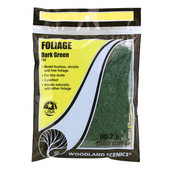 スポンジ系素材 【フォーリッジ】 ダーク・グリーン(深緑) :ウッドランド 素材 ノンスケール F53