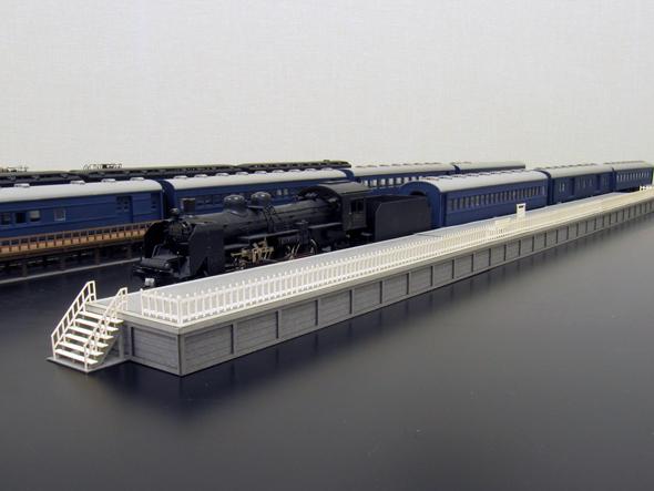 ホーム58A延長 :さんけい キット HO(1/87) MK05-23