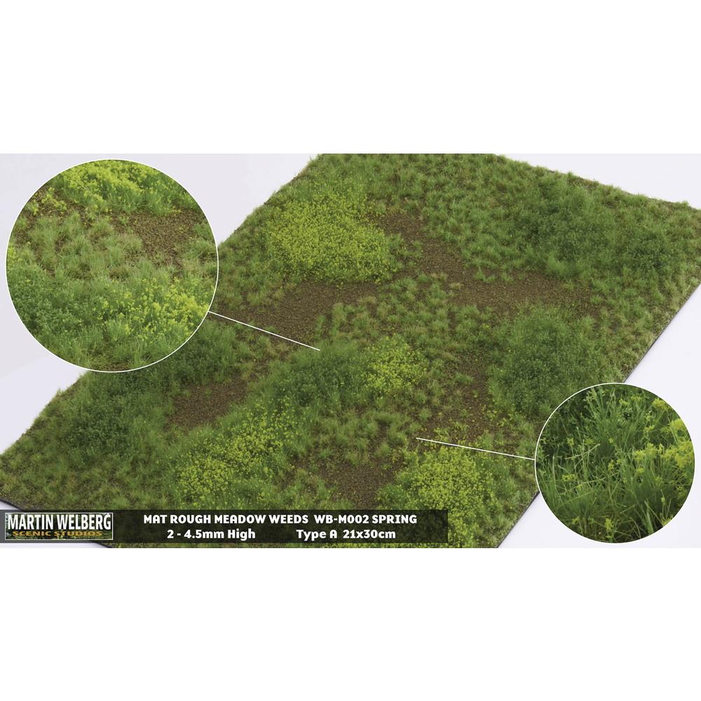 マットタイプ(牧草地) 全高4.5mm 春 パウダー付き :マーティンウェルバーグ ノンスケール WB-M002