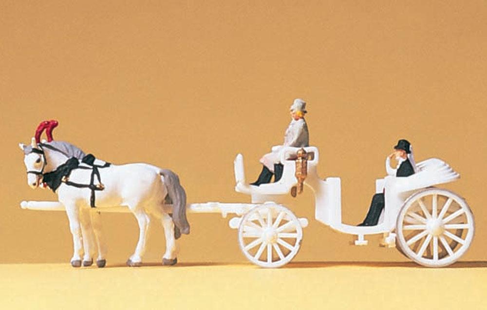 結婚式の馬車 :プライザー 塗装済完成品 N(1/160) 79479