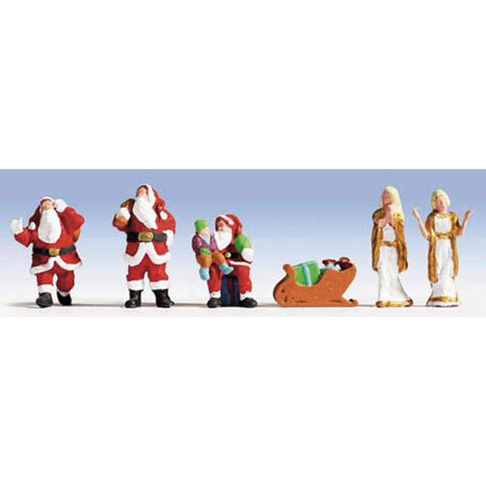 サンタクロースと女神 :ノッホ 塗装済完成品 HO(1/87) 15920