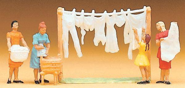 洗濯物干し :プライザー 塗装済完成品 HO(1/87) 14050