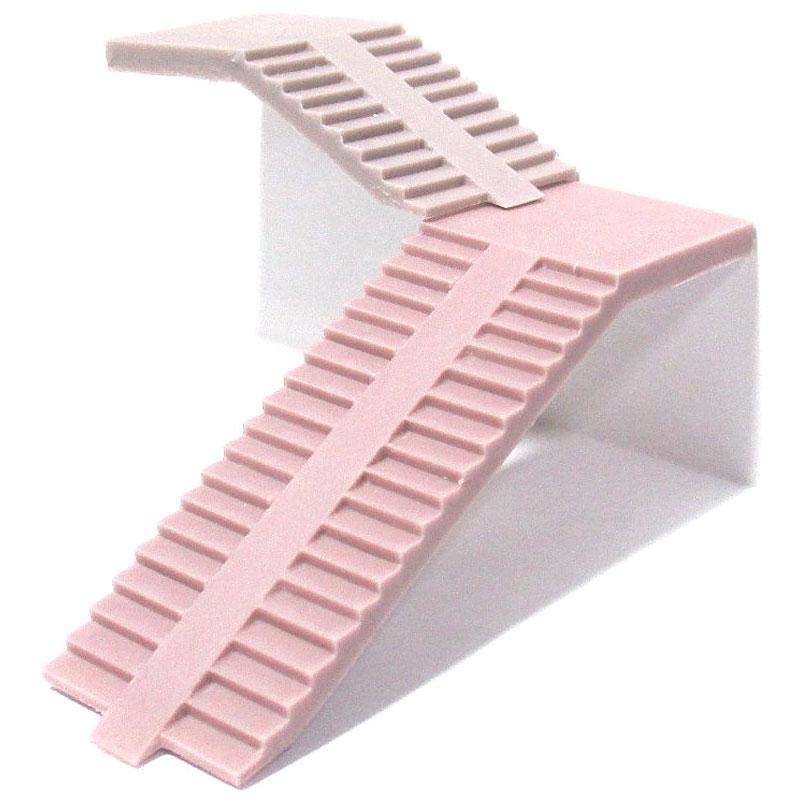 スロープ付き階段 :YSK 未塗装キット N(1/150) 品番388
