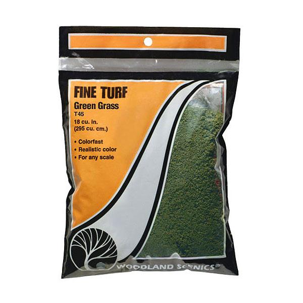 パウダー系素材 ファインターフ 緑色 :ウッドランド 素材 ノンスケール T45