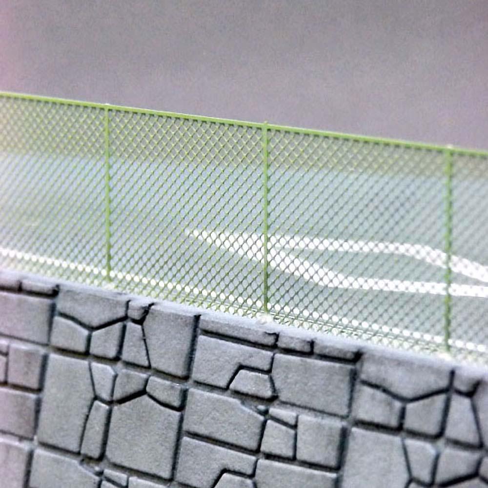【模型】 ネットフェンス 高さ12mm こばる同等品 :さかつう キット N(1/150) 3841