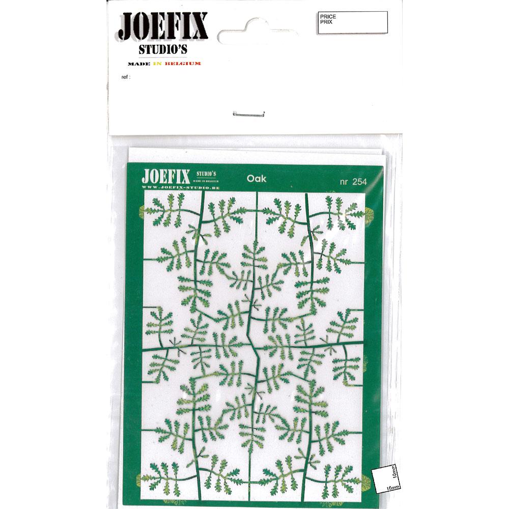 オークの葉(緑) :ジョーフィクス 素材 1/35スケール JF254