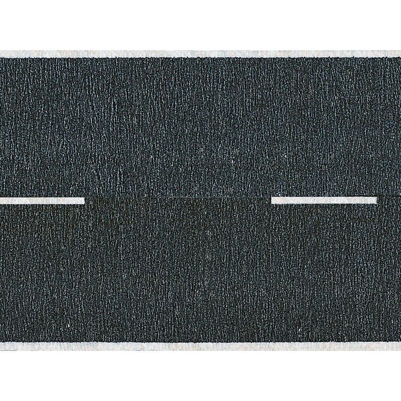 舗装道路 アスファルト :ノッホ 着色済み素材 HO(1/87) 60410