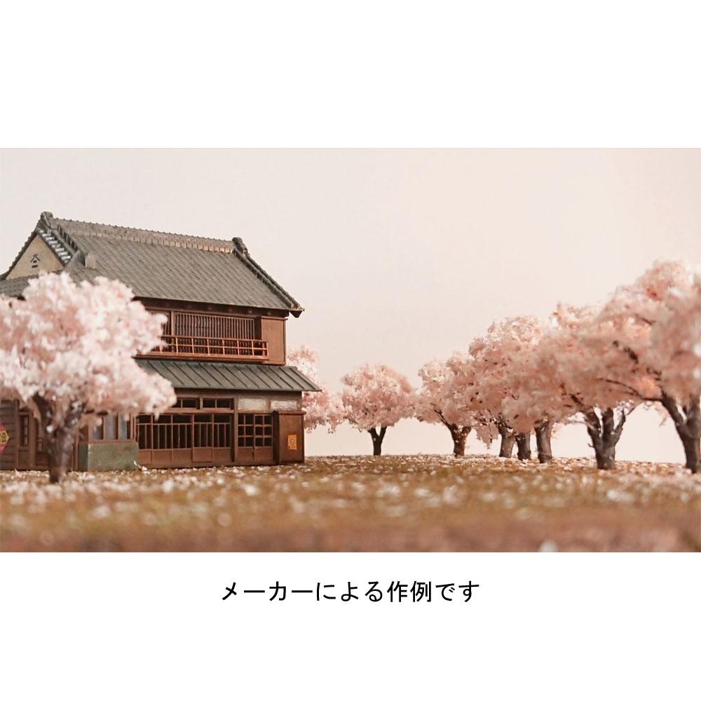桜 約4cm 3本入り :木草BUNKO 完成品 N(1/150) SA3