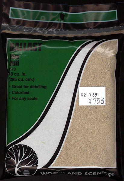 石系素材 バラスト(砂利)細 黄土色 :ウッドランド 素材 ノンスケール 73