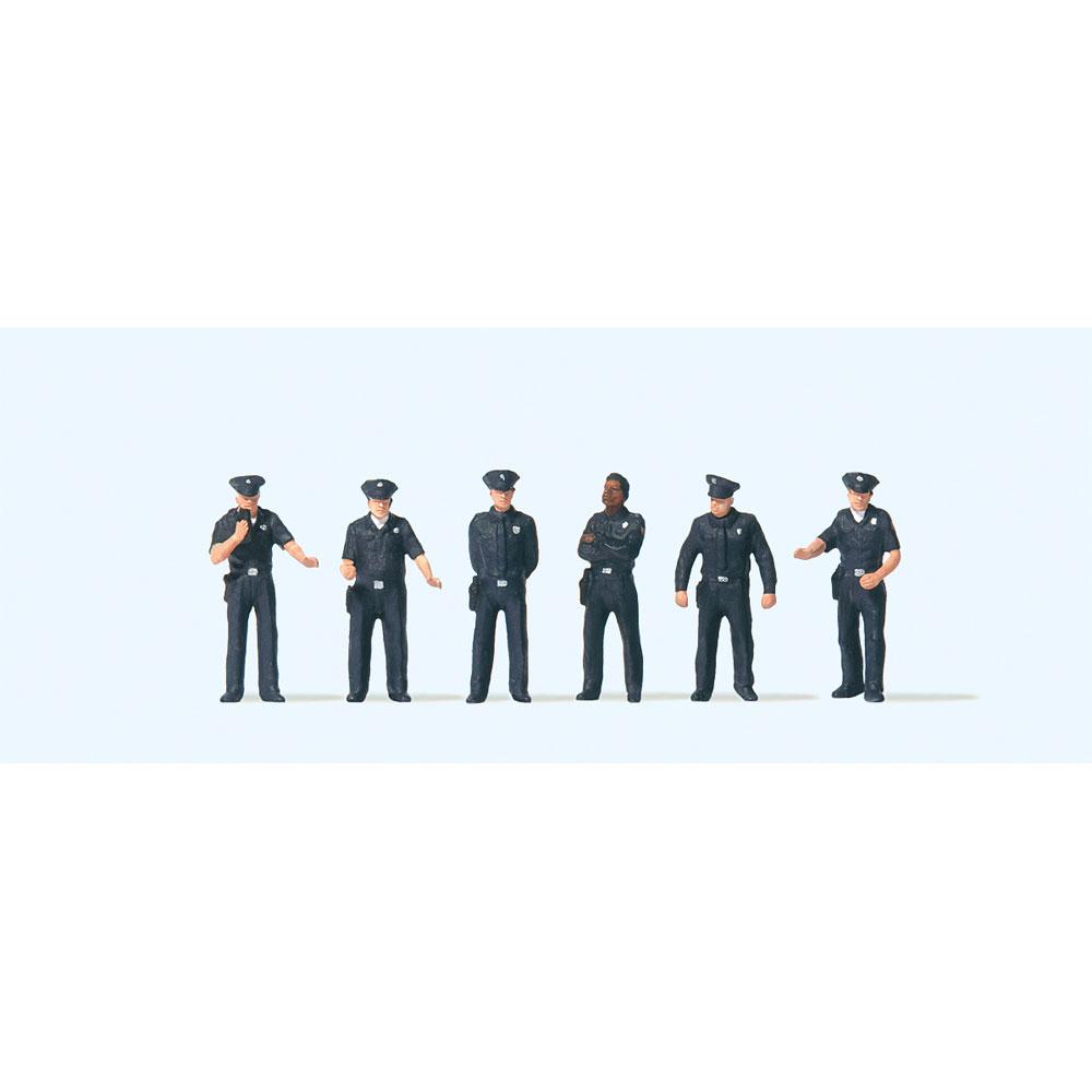 アメリカの市警察 :プライザー 塗装済完成品 HO(1/87) 10799