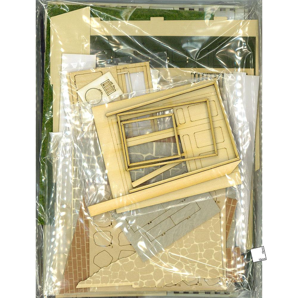 イギリスの紅茶屋さん :コバーニ 未塗装キット 1/24 SS-030