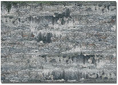 レンガ地 :ブッシュ 素材 HO(1/87) 7415