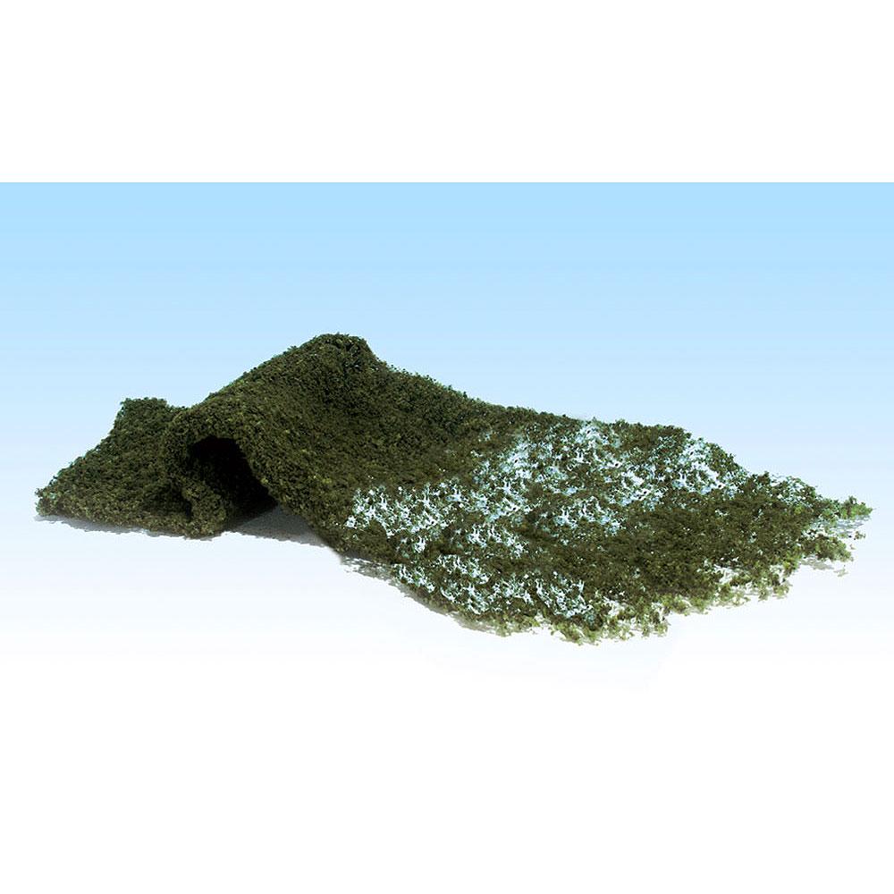 スポンジ系素材 【フォーリッジ】 コニファー・グリーン(黒緑) :ウッドランド 素材 ノンスケール F54