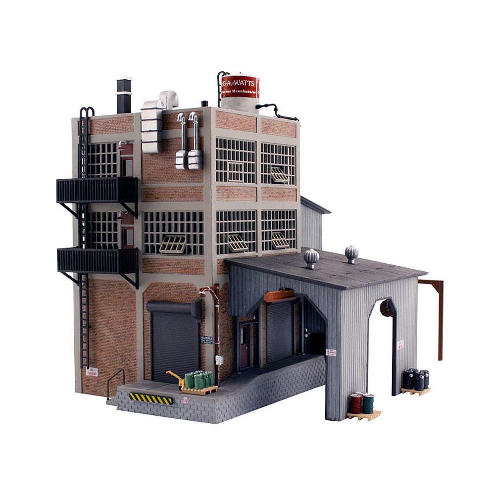 メガワッツ変圧器製造工場【LED付き】 :ウッドランド 塗装済完成品 HO(1/87) BR5037