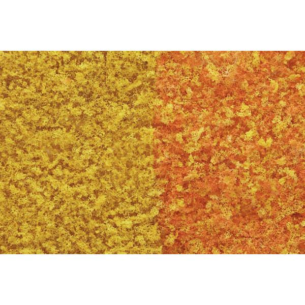 スポンジ系素材 【フォーリッジ】 初秋ミックス(黄色・橙色) :ウッドランド 素材 ノンスケール F55