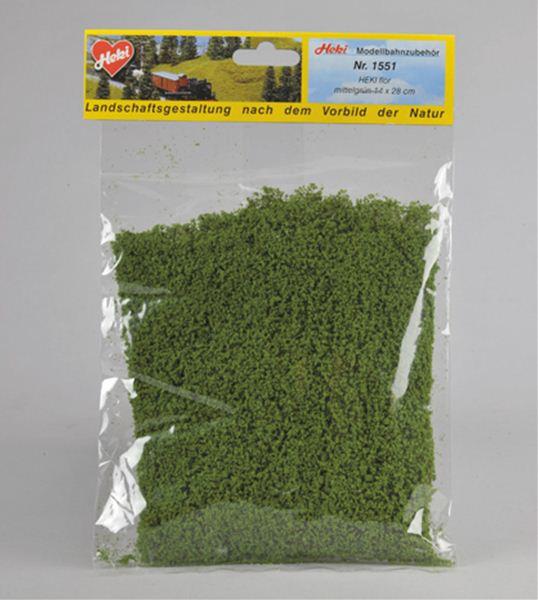 スポンジ系素材 緑色(ミディアム・グリーン) :ヘキ 素材 ノンスケール 1551
