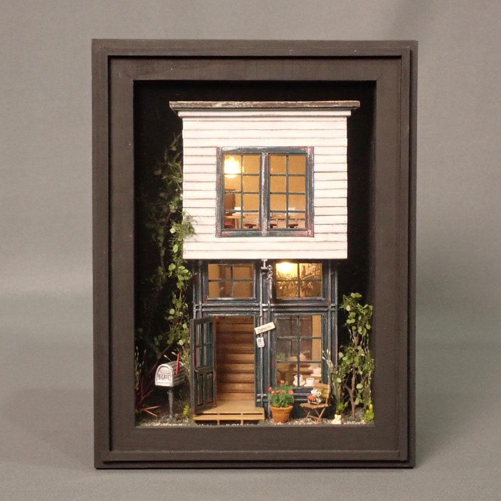森の隠れ家 インフレーム :亀田信子 塗装済完成品 ノンスケール