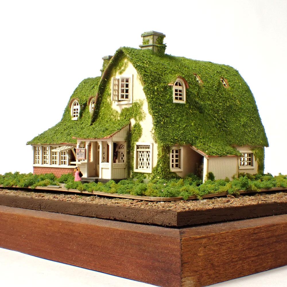 キキとジジの家(オキノ邸) :昭和浪漫堂 塗装済完成品 1/150スケール