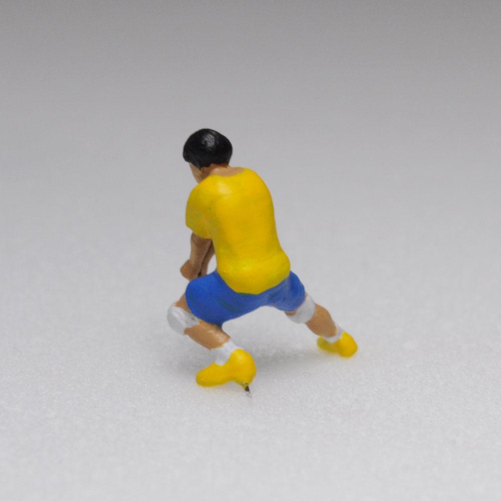 アスリート人形 バレーボール レシーブA :さかつう 3Dプリント 完成品 HO(1/87) 211