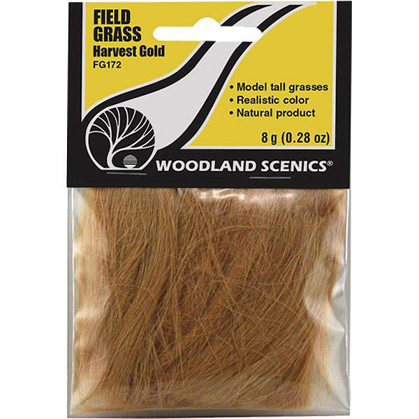 繊維系素材 【フィールドグラス】 黄金色  :ウッドランド 素材 ノンスケール FG172