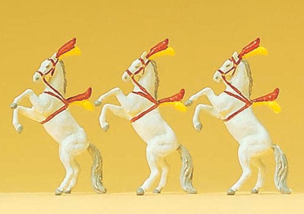 サーカスの馬3頭 :プライザー 塗装済完成品 N(1/160) 79712