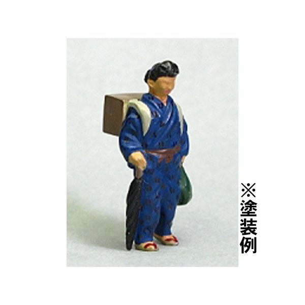 Oゲージフィギュア 女性A :モリタ 未塗装キット 1/45スケール  No.915