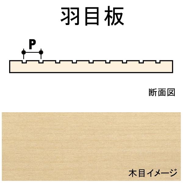 羽目板 6.4 x 0.8 x 88 x 609 mm 2枚入り :ノースイースタン 木材 ノンスケール 70358