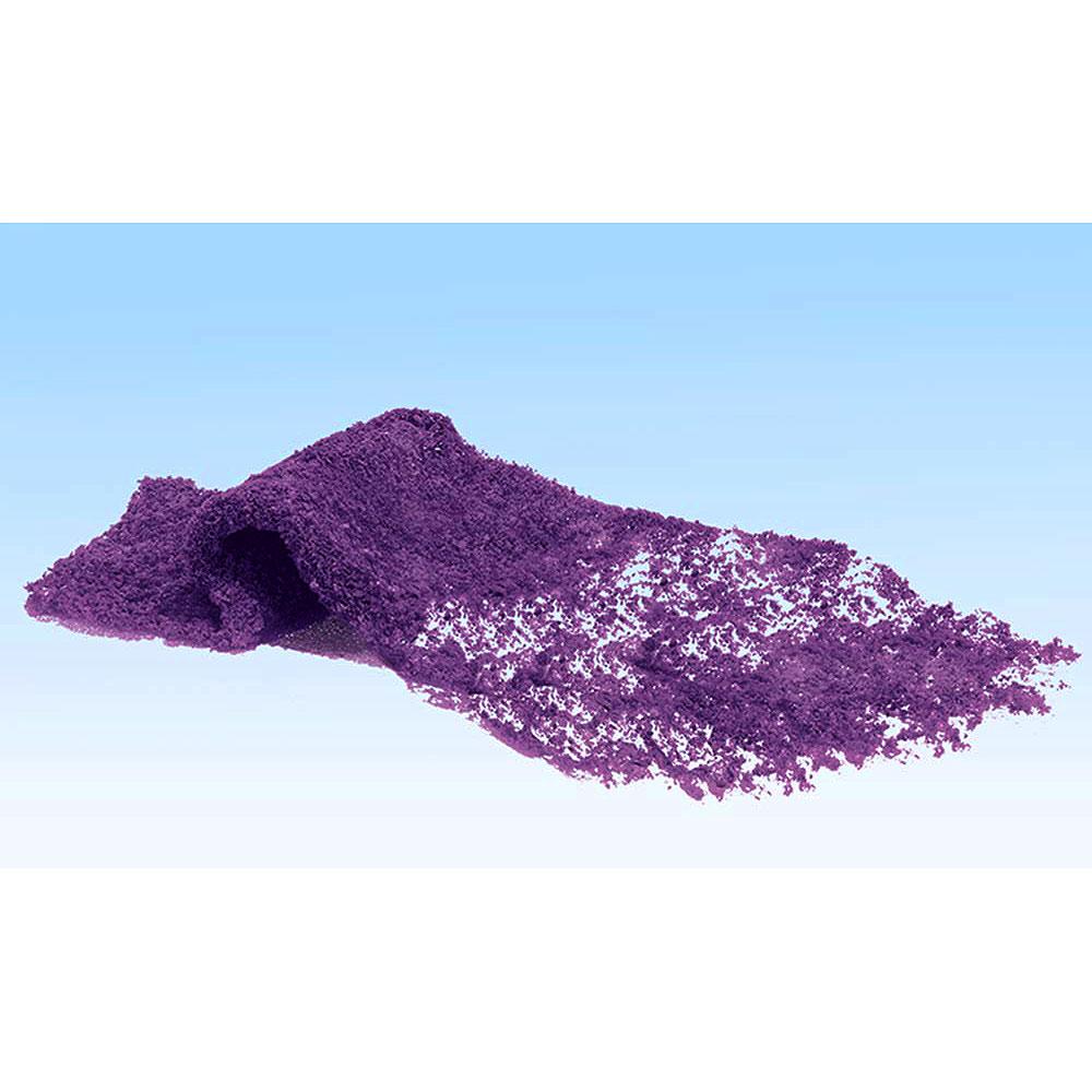 スポンジ系素材 【フラワリング・フォーリッジ】 紫色の花(パープル) :ウッドランド 素材 ノンスケール F177