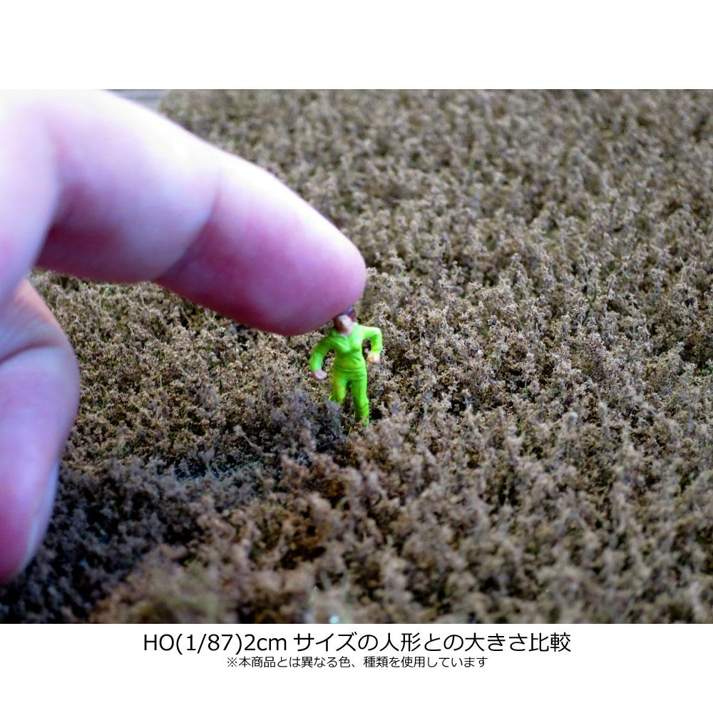 剥離タイプ(雑草 モスグリーン)  全高12mm :マルティン・ウエルベルク ノンスケール WB-LWM