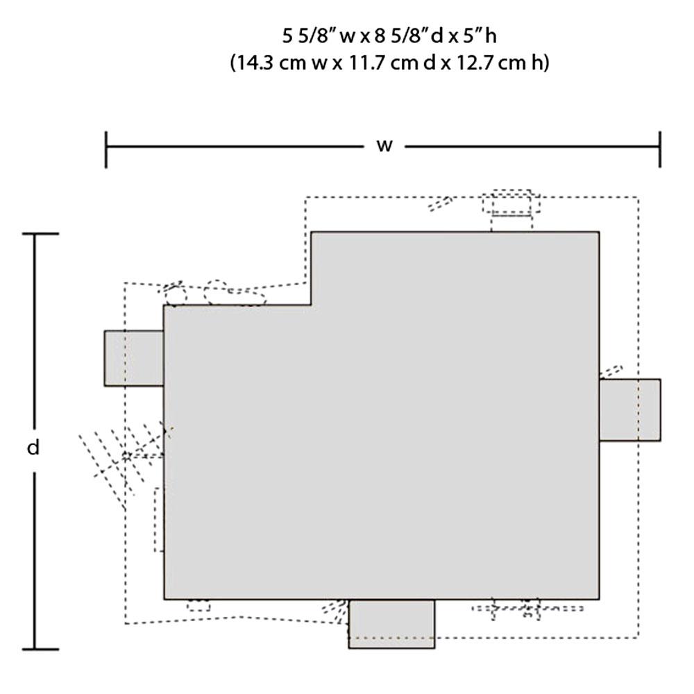 コーナーポーチハウス(二階建て住宅)【LED付き】 :ウッドランド 塗装済完成品 HO(1/87) 5046