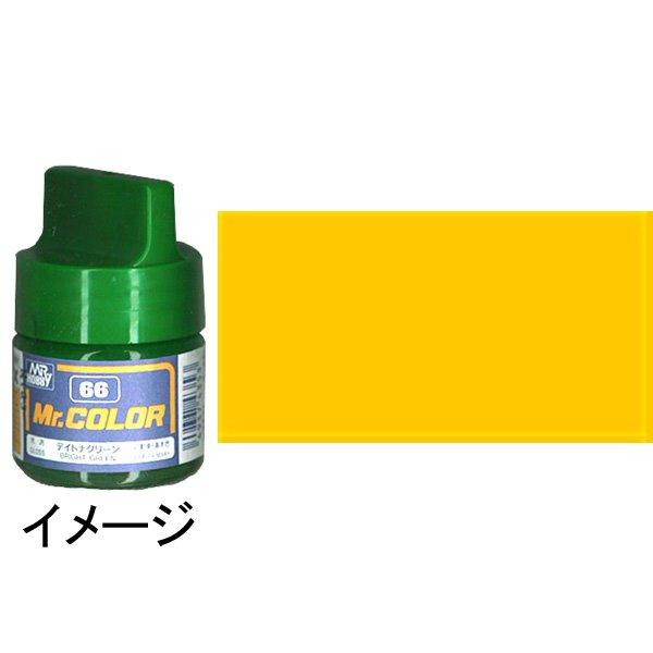 ミスターカラー キャラクターイエロー 基本色 :クレオス 半光沢塗料 ノンスケール C109