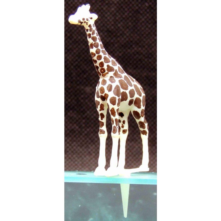 園芸ジオラマ作成用ミニチュア キリン :アイコム 塗装済完成品 ノンスケール GM8