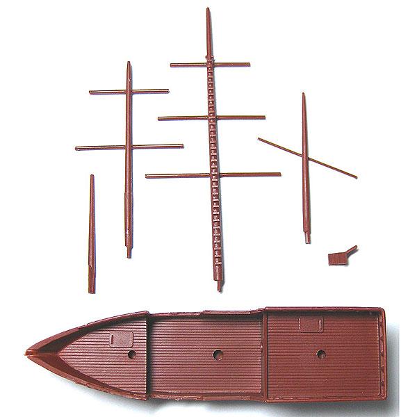帆船もどき :YSK 未塗装キット N(1/150) 品番290