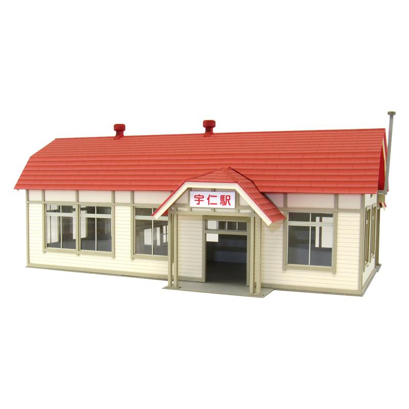 駅舎-5 :さんけい キット HO(1/80) MK05-39
